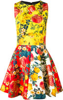 Fausto Puglisi floral print flared dress - women - Silk/Acetate - 40