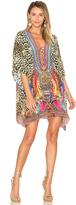 Camilla Short Lace Up Kaftan