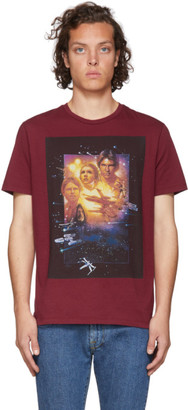 Etro Red Star Wars Edition Poster T-Shirt