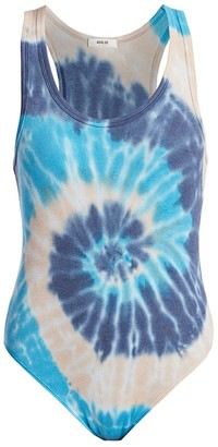 Ribbed Tie-Dye Bodysuit by A Gold E, available on shopstyle.com for $83 Khloe Kardashian Top SIMILAR PRODUCT