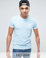 Le Coq Sportif Ringer T-shirt In Blue Exclusive To Asos 1611260