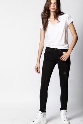 Zadig & Voltaire Eva Grunge Jeans