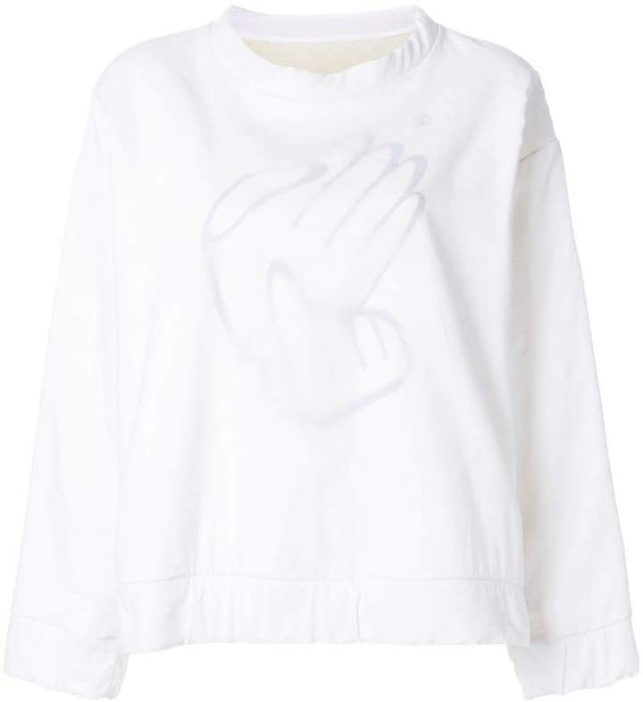 MM6 MAISON MARGIELA crewneck sweatshirt