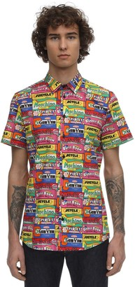 Moschino Gum Print Cotton Shirt