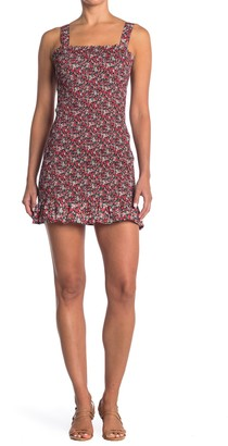Do & Be Floral Smocked Mini Dress