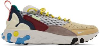 Nike Grey The 10th React Sertu Sneakers