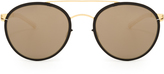 Mykita Buster stainless-steel aviator sunglasses