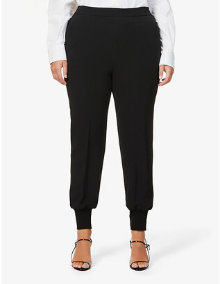 Stella McCartney Julia slim-fit stretch-crepe trousers