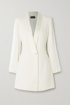 HANEY Tatiana Crepe Mini Dress - Ivory