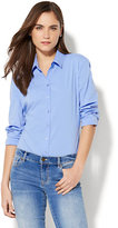 New York & Co. 7th Avenue - Madison Stretch Shirt Bodysuit