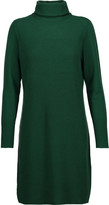 Magaschoni Ribbed cashmere turtleneck sweater dress