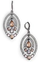 Jenny Packham Women's Orbiting Drop Earrings
