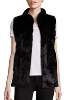 Fabulous Furs Signature Faux-Fur Hook Vest