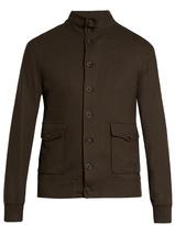 Giorgio Armani Button-up Cashmere Blazer