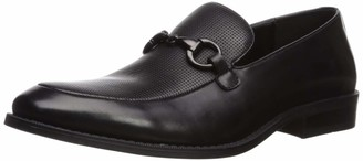 Kenneth Cole Unlisted by Men's Half Time Play Loafer Black 9.5 M US
