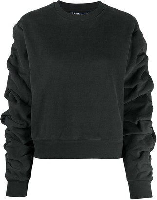 Levi's Made & Crafted Ruched-Sleeve Sweatshirt