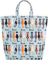 Harrods Medium Curly Tails Shopper Bag