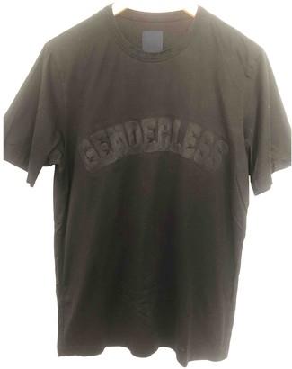 Juun.J Black Cotton T-shirts