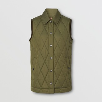Burberry Diamond Quilted Thermoregulated Gilet