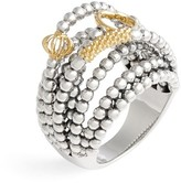 Lagos Women's 'Caviar Icon' Multi-Row Dome Ring