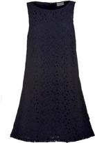 Moncler Floral Lace Shift Dress
