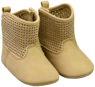 Carter's Baby Girl Perforated Short Boots