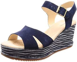 Clarks Women's Akilah Eden Ankle Strap Sandals