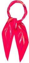 Hermes Bolduc Pointu Silk Scarf