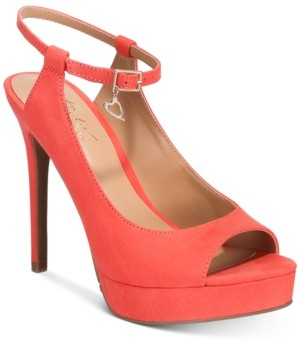 Thalia Sodi Chhloe Platform Slingback Sandals, Created for Macy's Women's Shoes