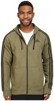 adidas Essentials Cotton Fleece 3-Stripes Full Zip Hoodie