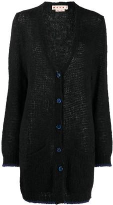 Marni Knitted Long Cardigan