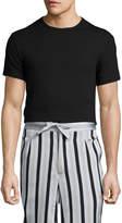 La Perla Men's Knit Soilid Shirt
