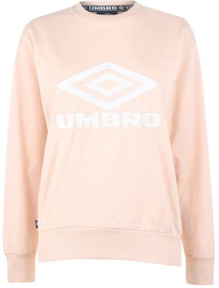 Umbro Womens Logo Crew Sweater