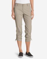 Eddie Bauer Women's Adventurer® Stretch Ripstop Crop Cargo Pants - Slightly Curvy