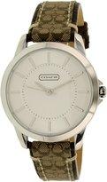 Coach Women's 14501525 Leather Quartz Watch