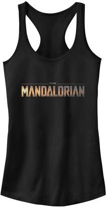 Star Wars Juniors' The Mandalorian Logo Tank