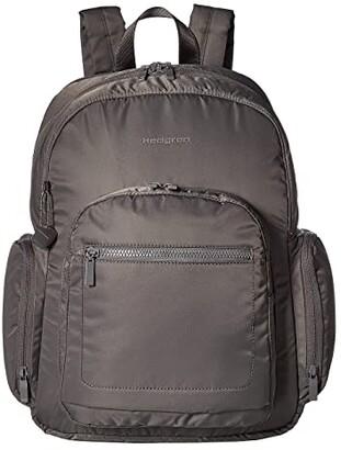 Hedgren Tour Large Backpack with RFID Pocket (Tornado Grey) Backpack Bags