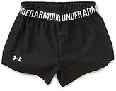 Under Armour Little Girls 2T-6X Play Up Shorts