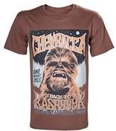 Star Wars Men's Chewbacca Poster T-Shirt