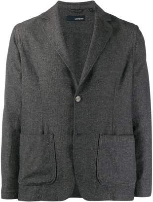 Lardini casual jersey knit blazer