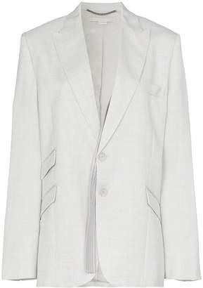 Stella McCartney single breasted suit blazer