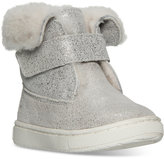 Polo Ralph Lauren Toddler Girls' Sierra Suede Boots from Finish Line