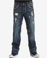 Affliction Men's Blake Fleur Relaxed-Straight Fit Stretch Jeans