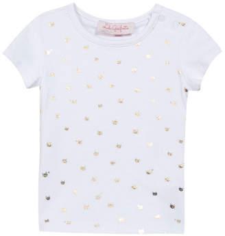 Lili Gaufrette Laude Metallic Crewneck T-Shirt