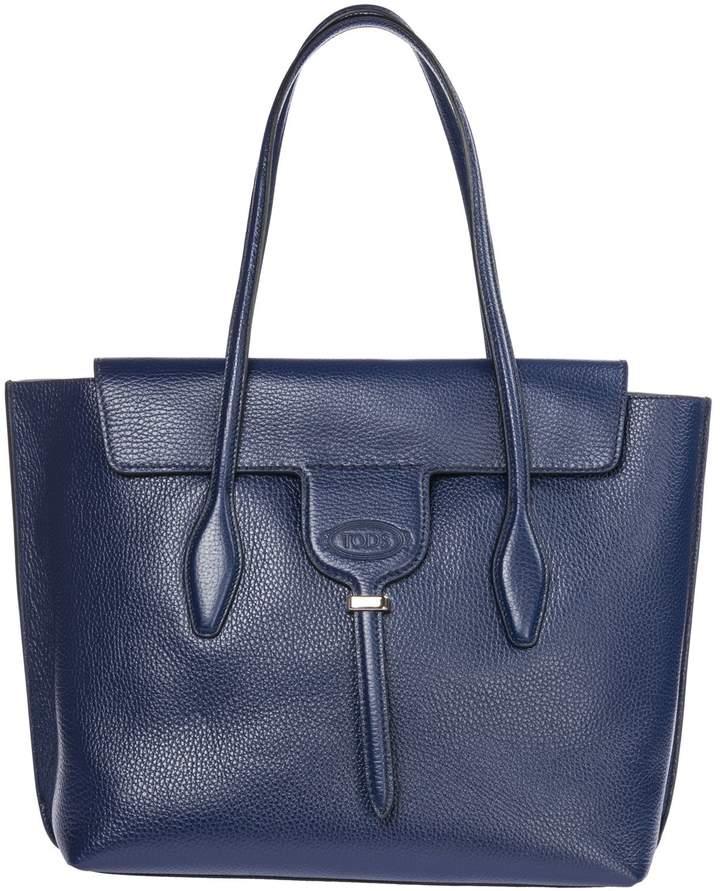 45f5229a0 Tod's Blue Shoulder Bags - ShopStyle