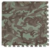 Sleeping Partners Tadpoles 4 Piece Camouflage Print Playmat Set, Green, 24 by Tadpoles