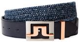J. Lindeberg Slater Herringbone Belt