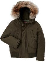 Woolrich Boys 8-20) Polar Real Fur Trim Jacket