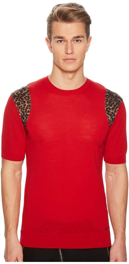 DSQUARED2 Short Sleeve Sweater Men's Sweater