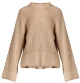 Elizabeth And James Aimee Split-hem Cotton-blend Sweater
